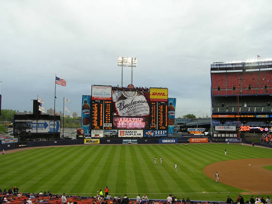 The Scoreboard at Shea ... Still the majors Best