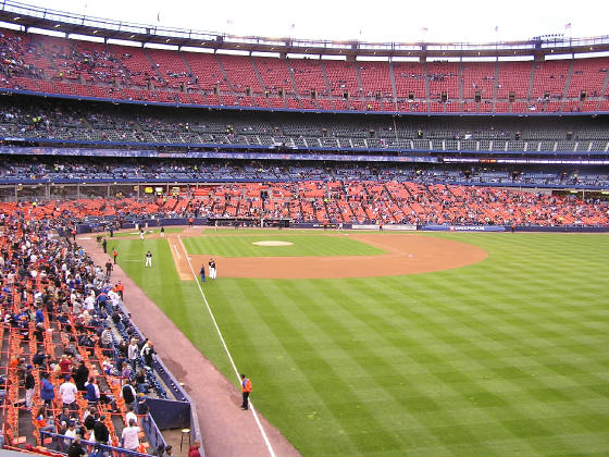 Shea Stadium - From Right Field