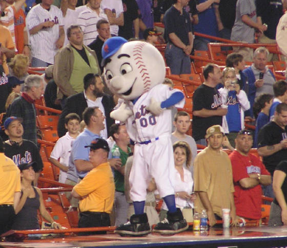Mr Met - Shea Stadium